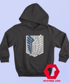 Attack on Titan Scouting Legion Logo Hoodie