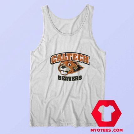 Awesome Caltech Beavers Mascot Graphic Tank Top