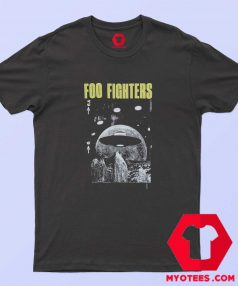 Awesome Foo Fighters UFO Unisex T Shirt