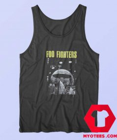 Awesome Foo Fighters UFO Unisex Tank Top
