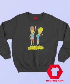 Cartoon Vintage Beavis and Butthead Sweatshirt