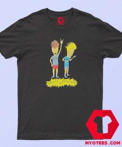 Cartoon Vintage Beavis and Butthead T Shirt