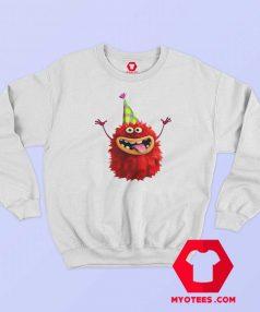 Cute Funy Furry Party Monster Sweatshirt