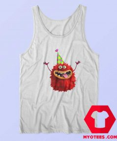 Cute Funy Furry Party Monster Tank Top