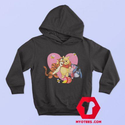 Cute Heart Love Tigger Piglet Eeyore Pooh Hoodie