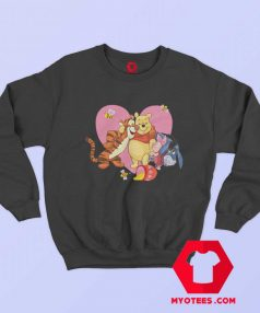 Cute Heart Love Tigger Piglet Eeyore Pooh Sweatshirt