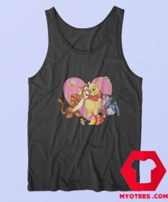 Cute Heart Love Tigger Piglet Eeyore Pooh Tank Top