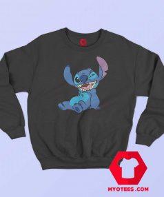 Cute Lilo and Stitch Winky Wink Sweatshirt
