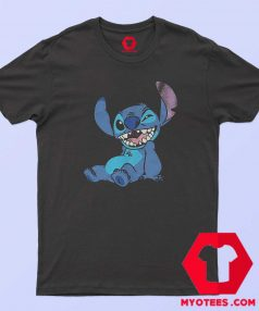 Cute Lilo and Stitch Winky Wink T Shirt