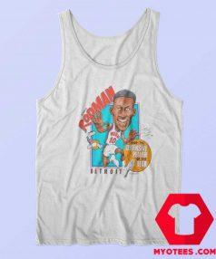 Detroit Pistons Dennis Rodman Character Tank Top