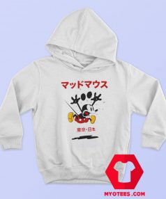 Disney Mickey Mouse Kanji Japan Hoodie