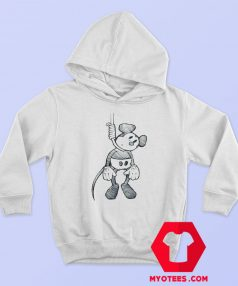 Disney Mickey Mouse Suicide Hanging Hoodie