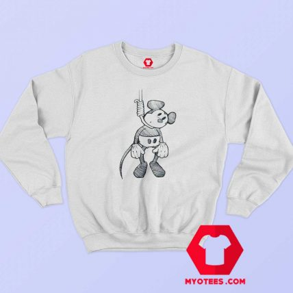 Disney Mickey Mouse Suicide Hanging Sweatshirt