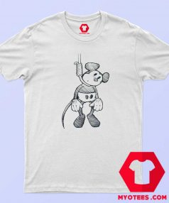 Disney Mickey Mouse Suicide Hanging T Shirt