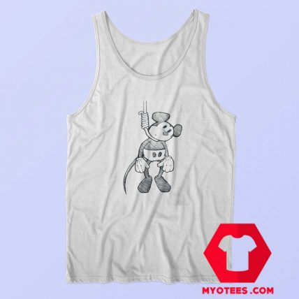 Disney Mickey Mouse Suicide Hanging Tank Top