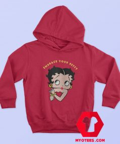 Embrace Your Betty Boop Cartoon Vintage Hoodie