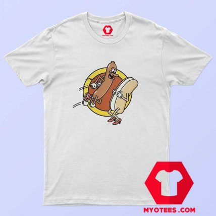 Funny Hot Dog Food Lovers Graphic T Shirt