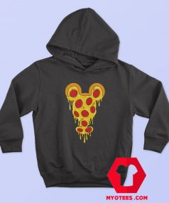 Funny Mickey Mouse Pizza Parody Hoodie