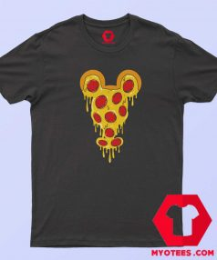 Funny Mickey Mouse Pizza Parody T Shirt