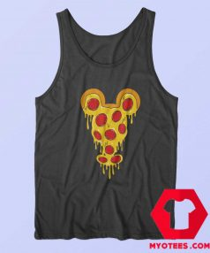 Funny Mickey Mouse Pizza Parody Tank Top