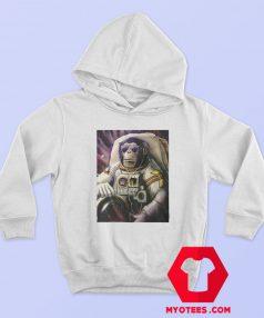 Funny Monkey Chimp In Space Unisex Hoodie