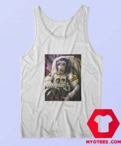 Funny Monkey Chimp In Space Unisex Tank Top
