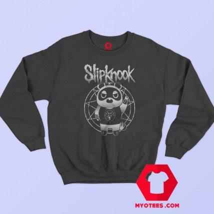 Funny SlipKnook Bear Metal Parody Unisex Sweatshirt