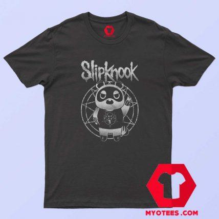 Funny SlipKnook Bear Metal Parody Unisex T Shirt