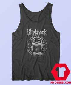 Funny SlipKnook Bear Metal Parody Unisex Tank Top