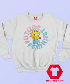 Future Feminist Cute Simpson Unisex Sweatshirt
