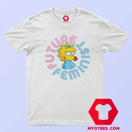 Future Feminist Cute Simpson Unisex T Shirt