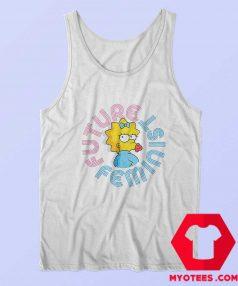 Future Feminist Cute Simpson Unisex Tank Top
