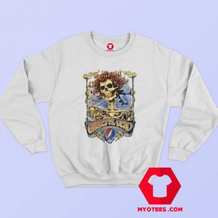 Grateful Dead Skull and Roses Bertha Sweatshirt