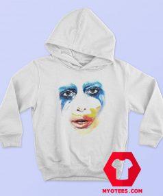 Lady Gaga Applause Tour Artpop Face Hoodie