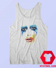Lady Gaga Applause Tour Artpop Face Tank Top