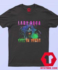 Lady Gaga Live In Vegas Enigma Tour T Shirt