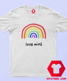 Love Wins LGBTQA PRIDE Unisex T Shirt