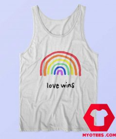 Love Wins LGBTQA PRIDE Unisex Tank Top