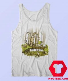 Luke And Yoda Calvin And Hobbes Unisex Tank Top