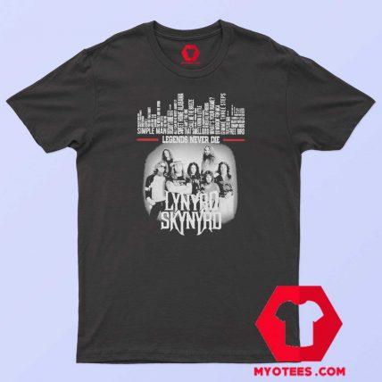 Lynyrd Skynyrd Album Legends Never Die T Shirt