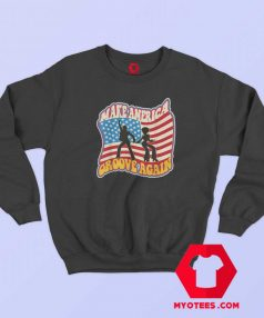 Make America Groove Again Graphic Sweatshirt