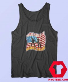 Make America Groove Again Graphic Tank Top