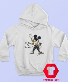 Mickey Mouse Queen We Are The Champions Hoodie