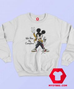 Mickey Mouse Queen We Are The Champions Sweatshirt
