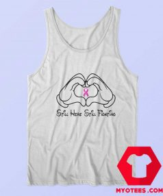 Mickey Mouse Still Here Cancer Awareness Tank Top