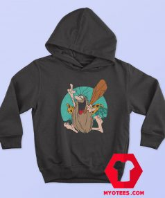 New Captain Caveman Vintage Cartoon Hoodie