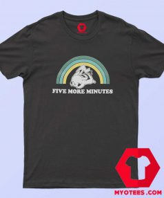 Official Five More Minutes Pikachu Graphic T Shirt