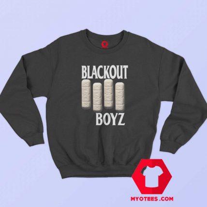 Old Vintage Symbol Blackout Boyz Sweatshirt