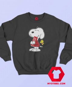 Peanuts Cute Snoopy Drink Coca Cola Sweatshirt