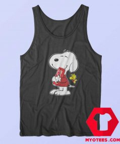Peanuts Cute Snoopy Drink Coca Cola Tank Top